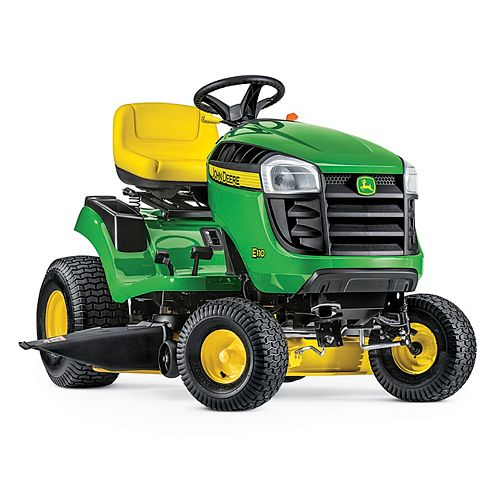 John Deere E110 42-inch 19 HP Gas Hydrostatic Lawn Tractor