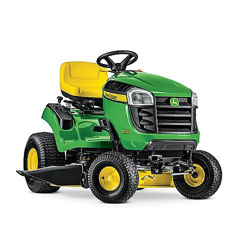 Tracteur de pelouseE100, transmission automatique, à essence, 17,5HP, corps de 107cm (42po)