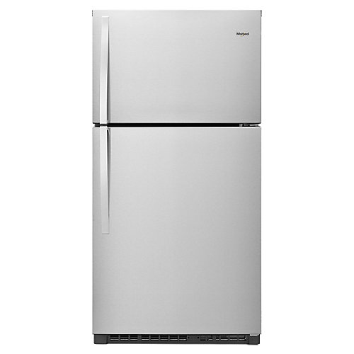 33-inch W 21.3 cu. ft. Top Freezer Refrigerator in Stainless Steel - ENERGY STAR®