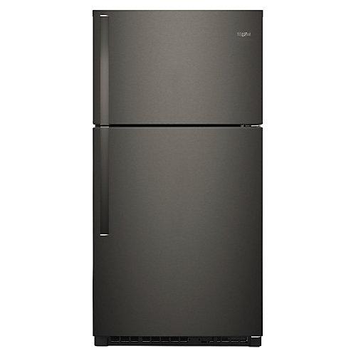 Réfrigérateur Whirlpool® à congélateur supérieur, 33 po, 21,3 pi3 - ENERGY STAR®