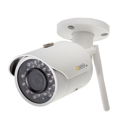 3MP Wi-Fi Wireless Indoor/Outdoor Bullet Security Surveillance Camera with 16GB SD Card