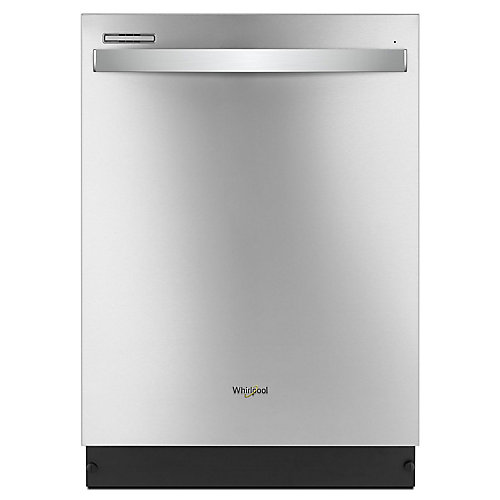 Top Control Dishwasher in Stainless Steel with Plastic Tub, 51 dBA- ENERGY STAR®