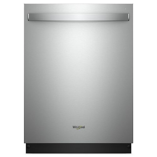 Top Control Smart Dishwasher in Stainless Steel with Stainless Steel Tub, 47 dBA - ENERGY STAR®