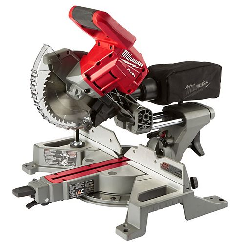 Milwaukee Tool M18 FUEL 18V Li-Ion Brushless Cordless 7-1/4-inch Dual Bevel Sliding Compound Miter Saw (Tool-Only)