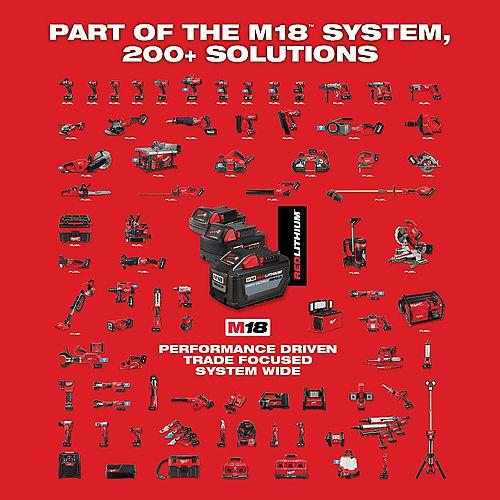 M18 FUEL 18-V Li-Ion Brushless Cordless Hammer Drill/Impact Driver Combo Kit w/ (2) 5.0 Ah Batteries