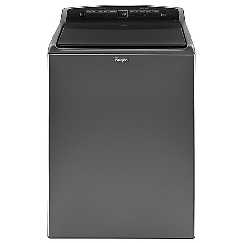 5.5 cu. ft. High Efficiency Top Load Washer in Chrome Shadow - ENERGY STAR®