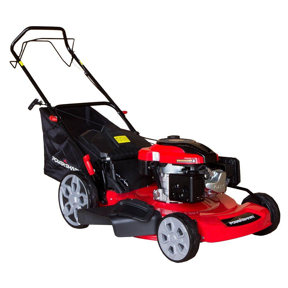 PowerSmart 22-inch 3-in-1 196cc Gas Self Propelled Lawn Mower