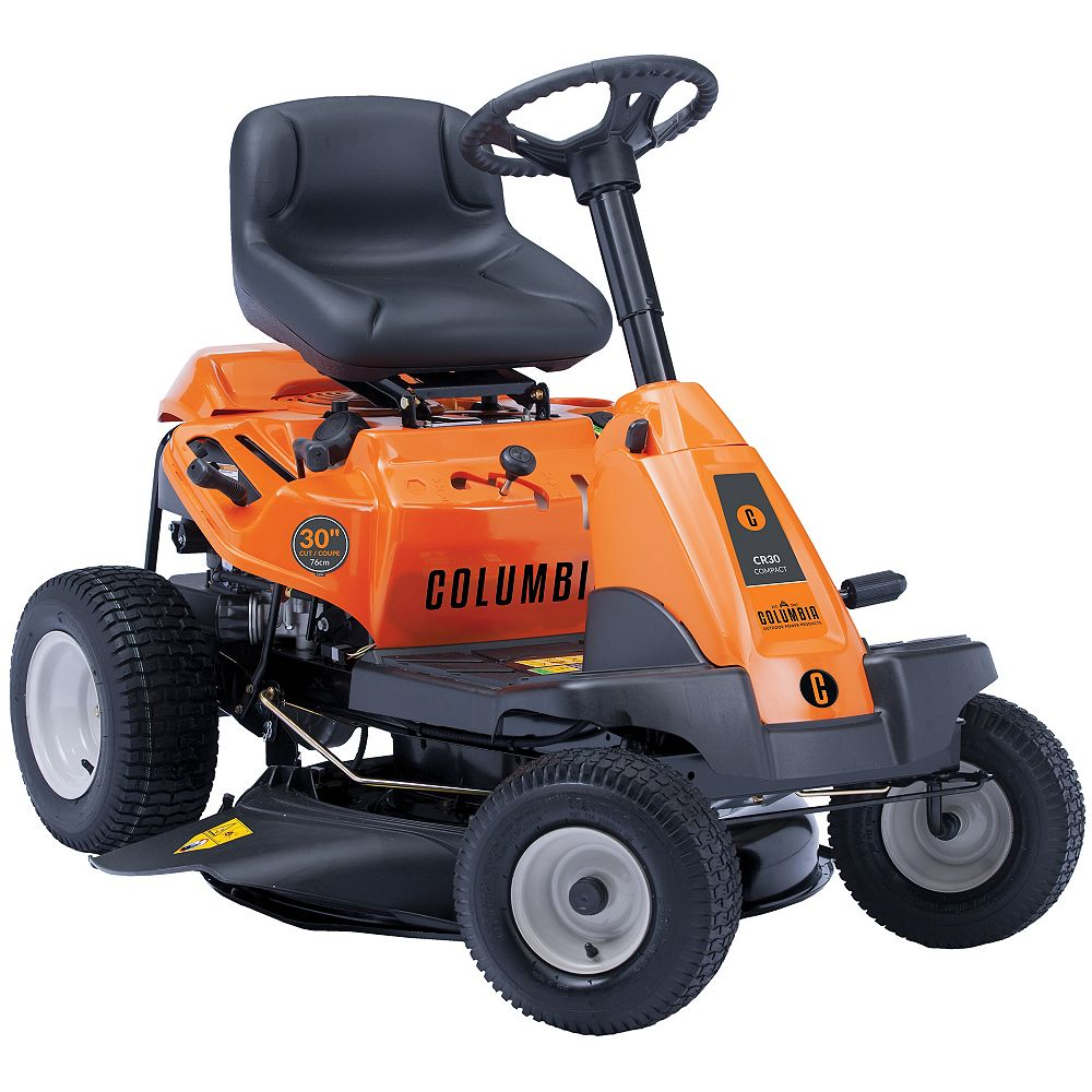 Columbia 30-inch 382cc Gas Lawn Tractor with Side Discharge