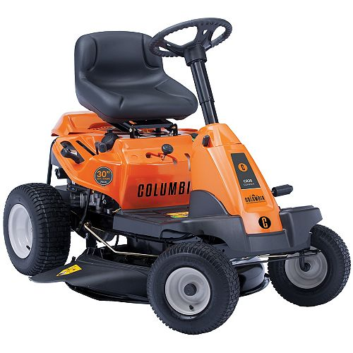 Tracteur de pelouse à essence avec éjection latérale, 382 ch, 30 po