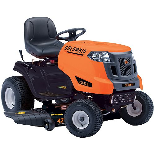 42-inch 547cc Gas Lawn Tractor with Side Discharge