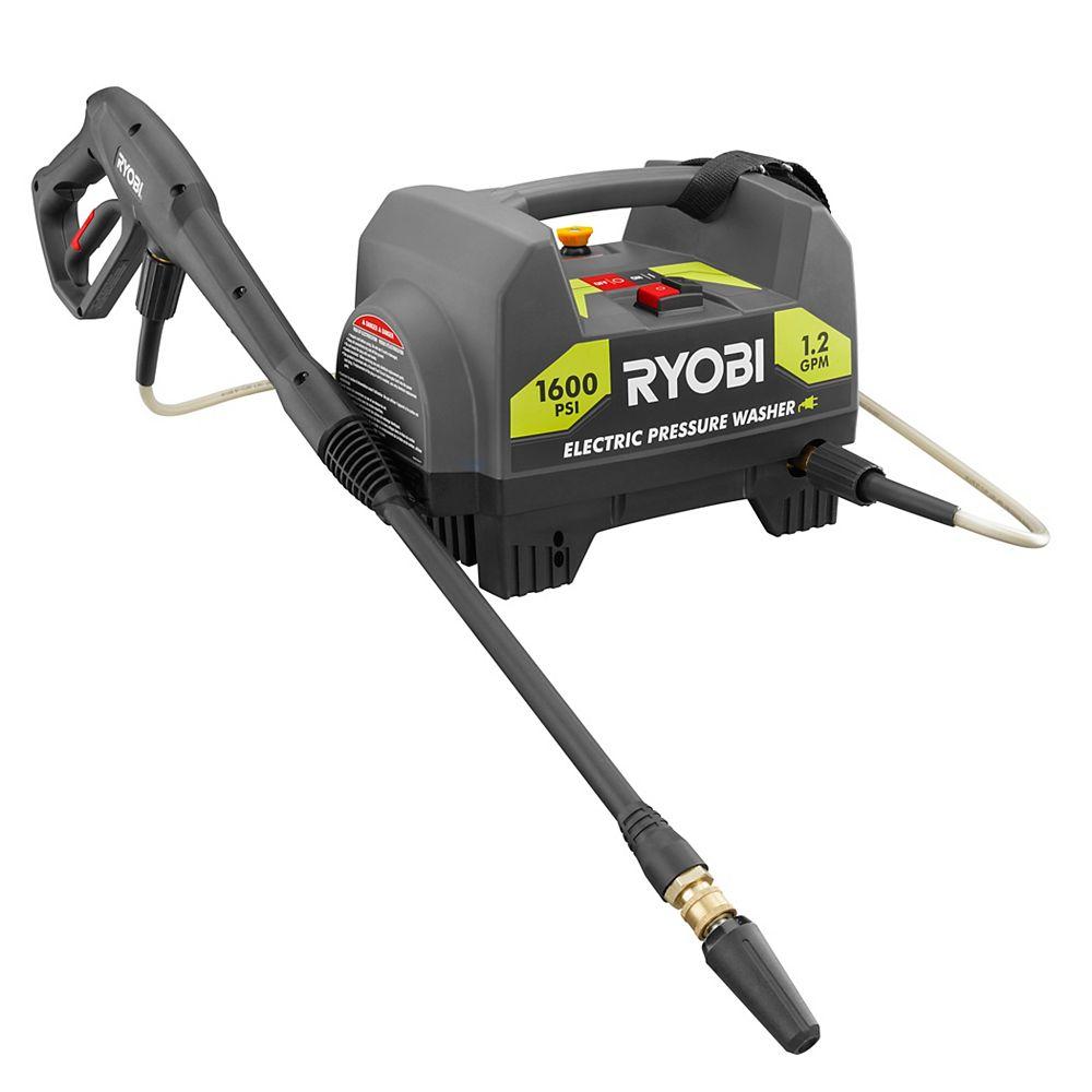 RYOBI 1,600-PSI 1.2-GPM Electric Pressure Washer