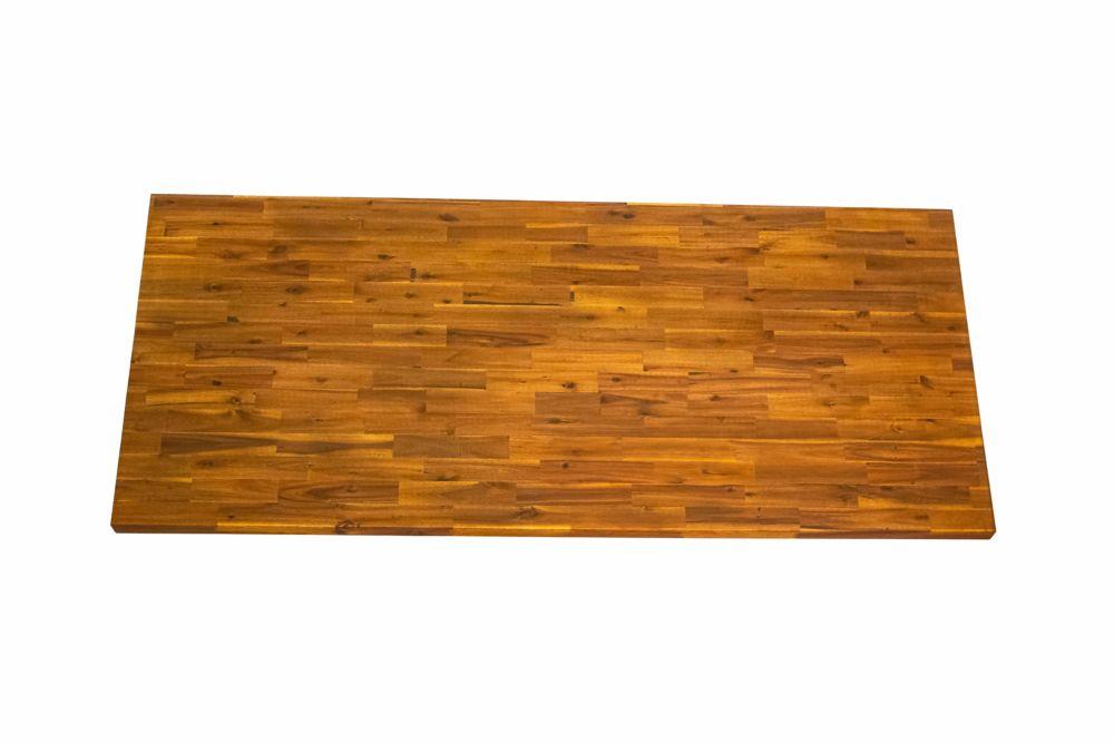 Acacia Wood Kitchen Island Countertop