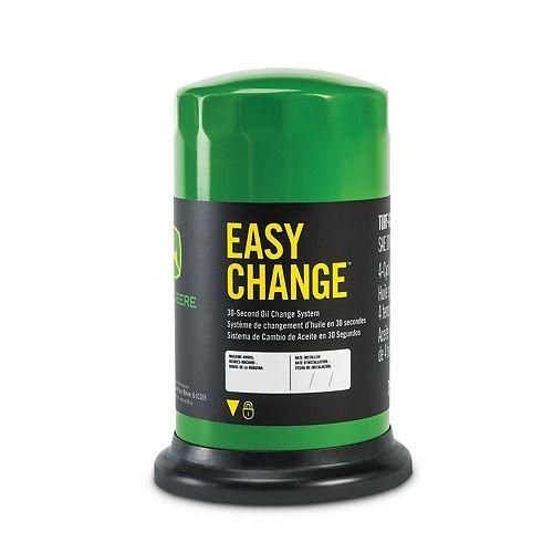 Système de changement d'huile en 30 secondes Easy Change de John Deere
