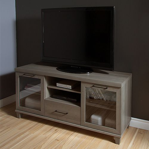 Adrian TV Stand for TVs up to 60'', Gray Maple