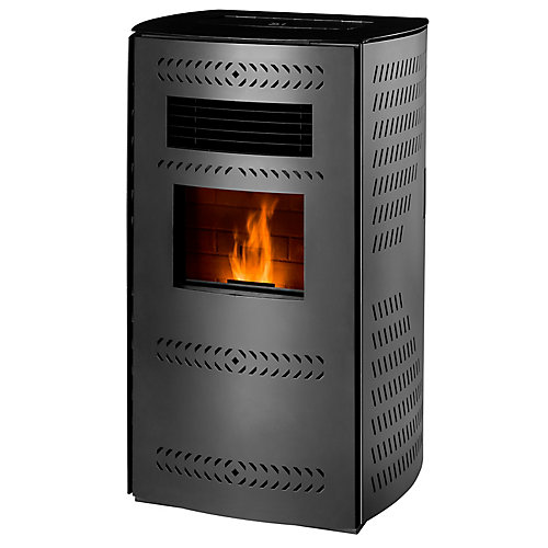 Imperial 2,200 sq/ft Pellet Stove with Rounded Panels
