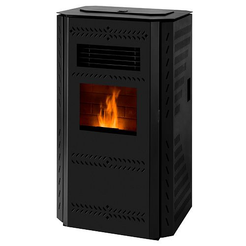 Imperial 2,200 sq/ft Pellet Stove with Squared Panels