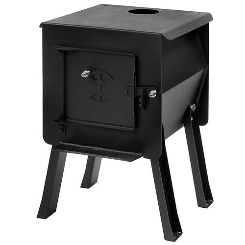 BLACKBEAR - Portable Camp / Cook Wood Stove, 1.8 Cu. ft.