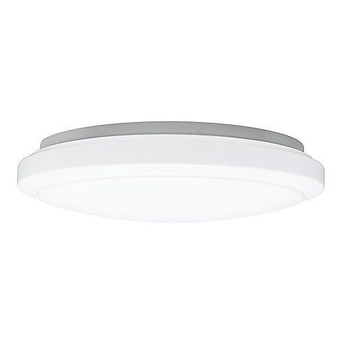 20 inch White Round LED Flush Mount Ceiling Light 2200 Lumens Dimmable 4000K Bright White