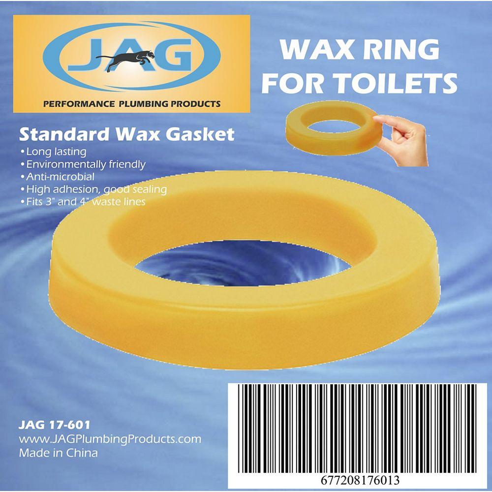 Jag Plumbing Products JAG pour les plombiers:  Paquet de 12 joints de cire pour toilettes