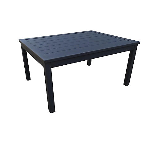 Riley Table basse de conversation en acier