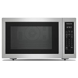 1.5 cu. ft. Countertop Convection Microwave in Stainless Steel