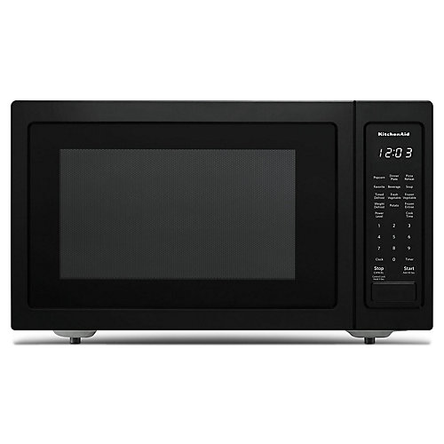 1.5 cu. ft. Countertop Convection Microwave in PrintShield Black Stainless Steel