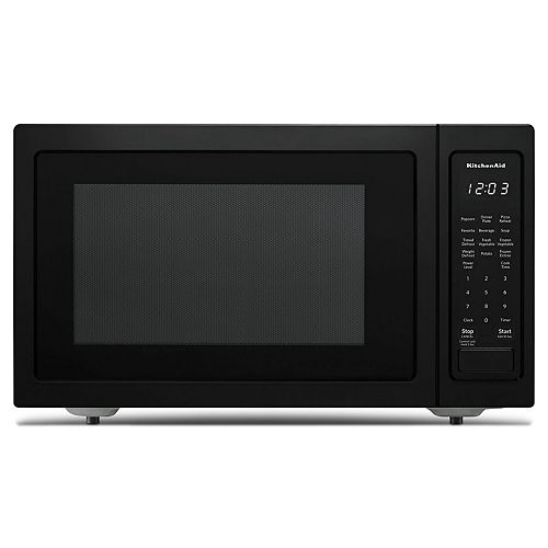 KitchenAid 1.5 cu. ft. Countertop Convection Microwave in PrintShield Black Stainless Steel