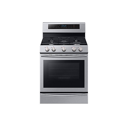 30-inch 5.8 cu.ft. Single Oven Gas Range with Self-Cleaning Convection Oven and Wi-Fi in Stainless Steel
