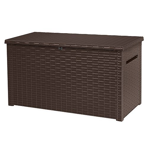 Keter Java Extra Large 30.7 cu. ft. Elegant Deck Storage Box