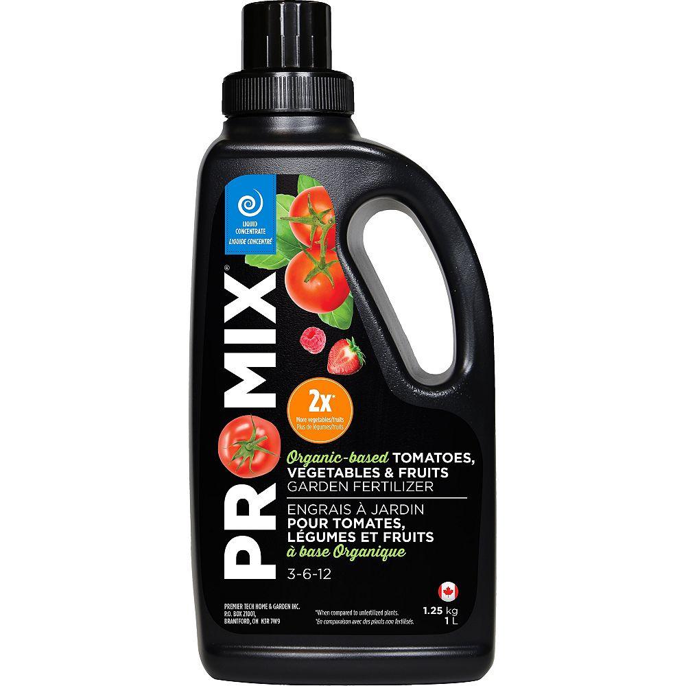 PRO-MIX Tomates, légumes et fruits à base organique 3-6-12