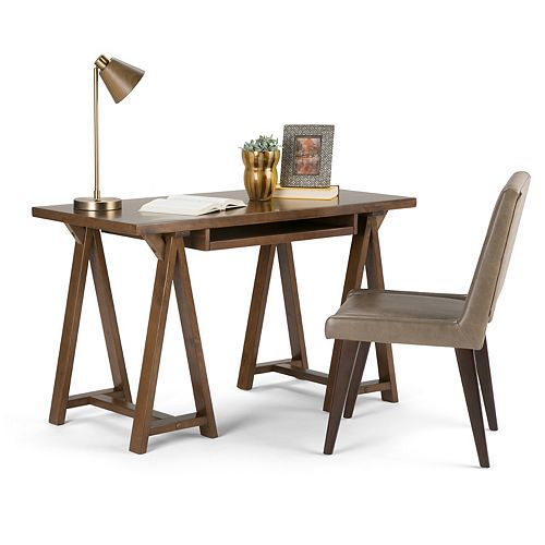 Sawhorse Small Desk
