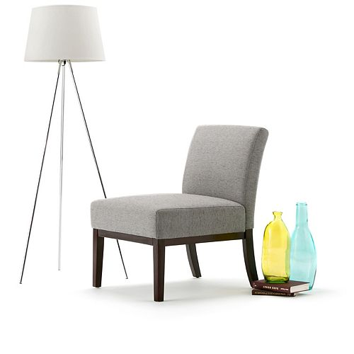Upton Accent Chair in Grey