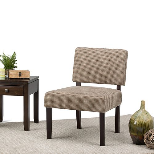 Virginia Accent Chair in Brown