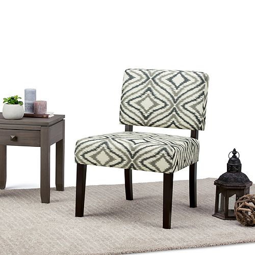 Virginia Accent Chair in Grey
