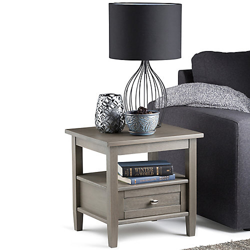 Warm Shaker- Table d'appoint