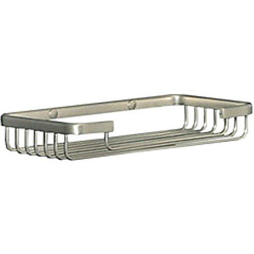 Accessoires de bain de style Wiretone: panier d'éponge en chrome poli