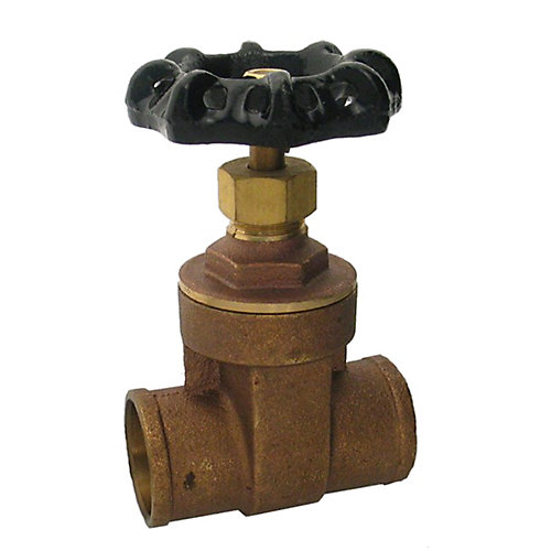 Packs de plomberie par JAG- 1-1/4 po C x C Robinet à visser (200 AHG)