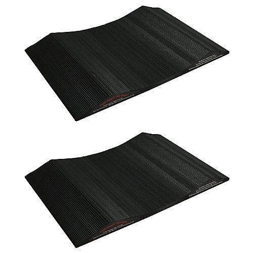15-inch Wide Tire Saver Ramp for Small Vehicles (2-Pack)