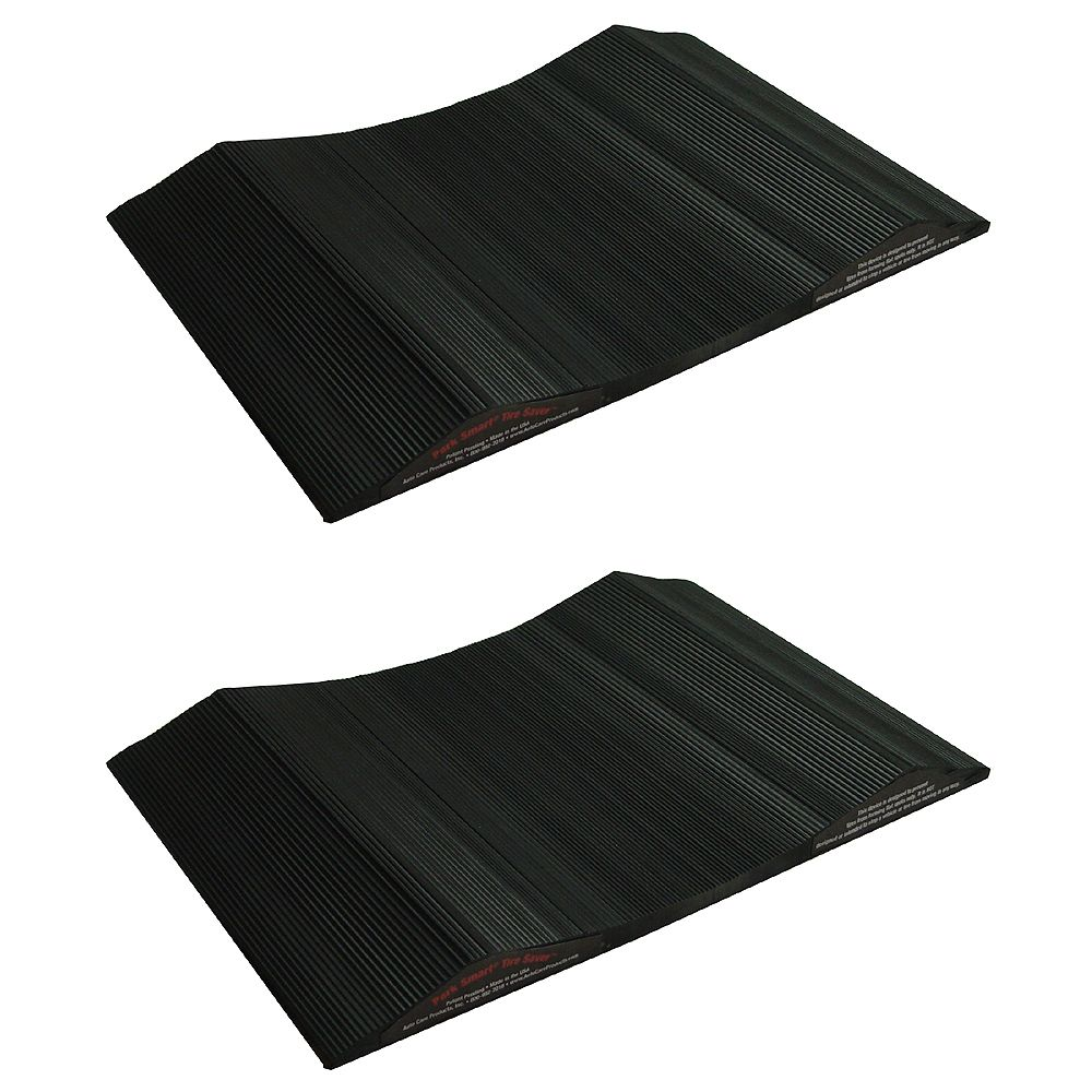 Park Smart 10-inch Wide Tire Saver Ramp for Small Vehicles (2-Pack)
