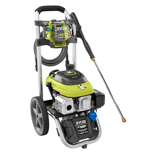 ONE+ 18V 3,200 PSI 2.5 GPM Electric Start Gas Pressure Washer