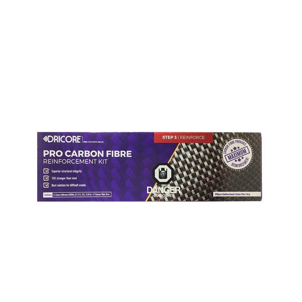 Dricore Pro Concrete Repair - Carbon Fibre Reinforcement Kit