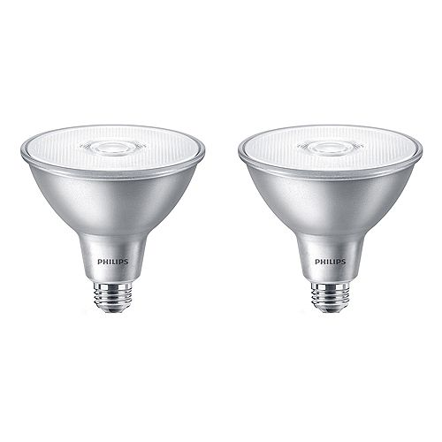 90W Equivalent Daylight (5000K) PAR38 LED Light Bulb (2-Pack)