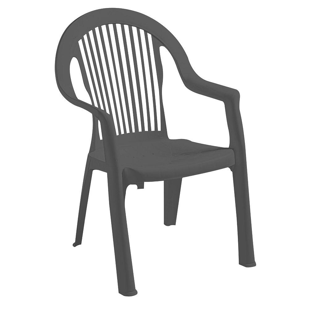 Gracious Living Newport Chair, Grey