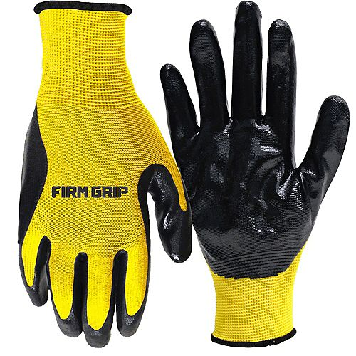 Nitrile Coated Gloves 12 Pair - Buy 10 Pairs, Get 2 FREE!