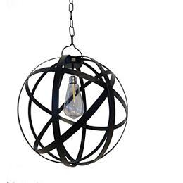 G Light Collection LED Battery Operated Outdoor Globe Gazebo Pendant Light