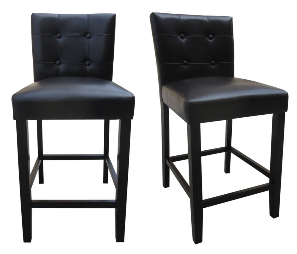 Magnificent 25 Inch Counter Height Parson Chair Set Of 2 Pabps2019 Chair Design Images Pabps2019Com
