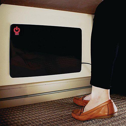 200W Cozy Legs Flat Panel Personal Office Desk Space Heater Compact Desktop