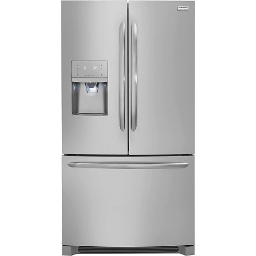 36-inch W 21.7 cu. ft. French Door Refrigerator in Stainless Steel, Counter Depth - ENERGY STAR®
