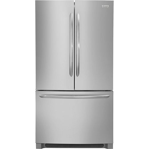 36-inch W 22.4 cu. ft. French Door Refrigerator in Stainless Steel, Counter Depth - ENERGY STAR®