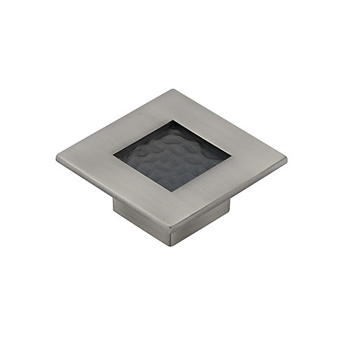 Transitional Metal Knob  Brushed Pewter - Castelo Collection